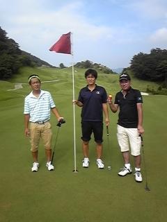 同窓会ゴルフ